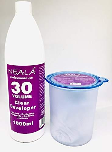 Kit decoloración sin amoniaco pelo Neala. Decolorante