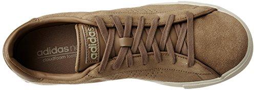 Adidas AW4711 Daily Line Braun-Weiß