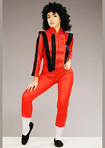 Magic Box Int. Das zierliche Michael Jackson Style Thriller Kostüm für Damen