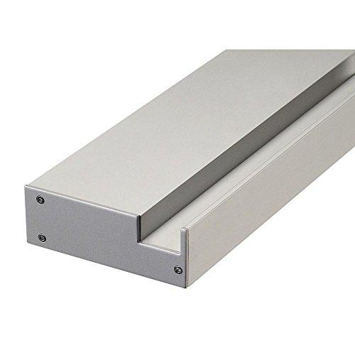 Slv glenos - Soporte pared perfil profesional 100cm aluminio