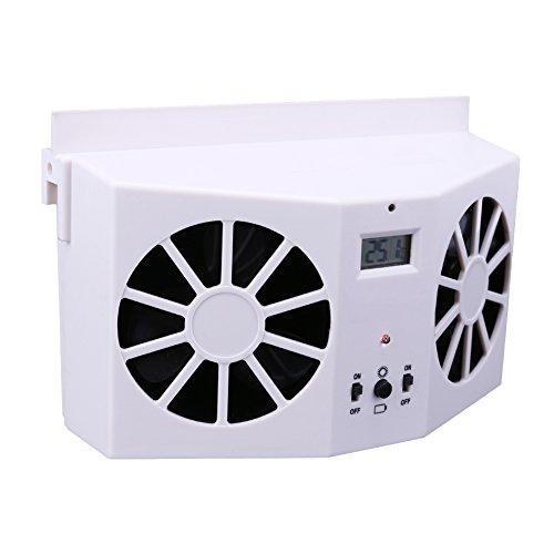 Preisvergleich Produktbild Broadroot Solar Powered Car Interior Auto Air Vent Kühler Lüfter Ventilator Belüftungssystem