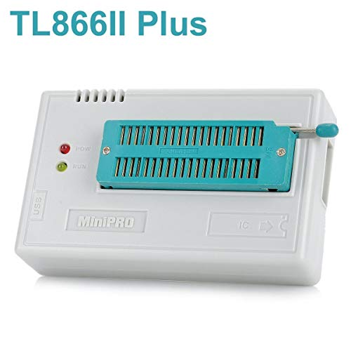 ARCELI TL866II Plus USB Hochleistungs-EEPROM Flash BIOS Programmierer für ATMEL AVR ATMEGA AT90 PIC GAL SRAM CMOS (Palette Pic)