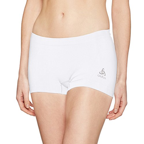 Odlo Damen Panty Evolution Light Unterhose, White, M