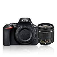 Nikon D5600 AF-P 18-55mm 3.5-5.6G VR Lens Kit, 24.2 MP DSLR Camera