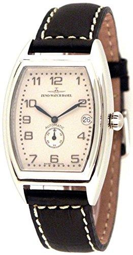 Zeno-Watch Orologio Donna - Tonneau Retro Automatico Retro 6 - 8081-6-e2