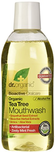 Dr.Organic Tea Tree Collutorio 500 ml