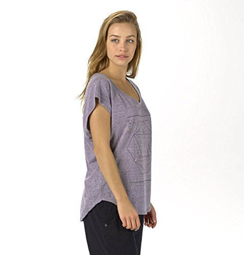 Burton Damen T-Shirt Vertigo Tee Graystone Heather