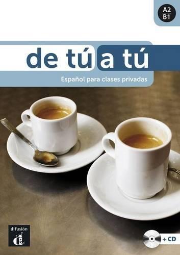 De tú a tú - Libro + CD (Ele - Texto Español) por Brian Brennan