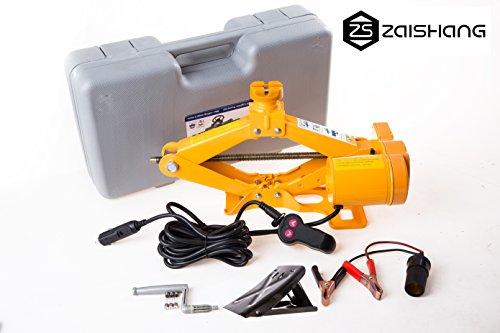 ZA ZAISHANG 2T 350 mm - Gato eléctrico ,Para Trinquete Auto, Batería Del