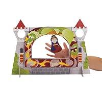 Manhattan Toy - 149700 - Théâtre de 3 Marionettes à Doigts - Court Royale