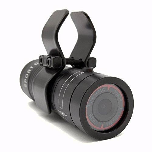 Ablebro Shotgun Kamera Video Cam für Clay Shooting und Jagd Fahrrad Motorrad Sports DV