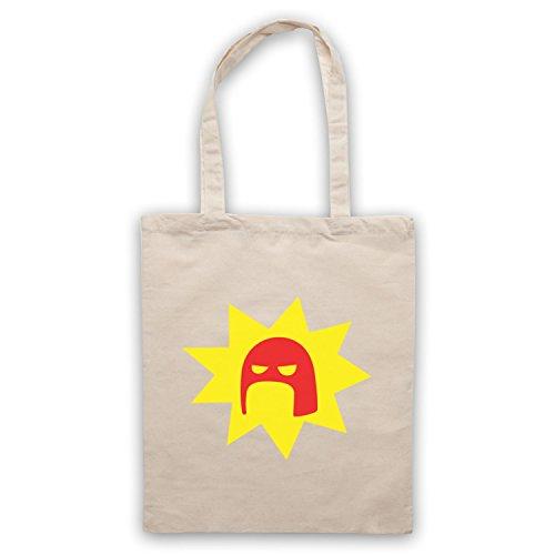 Inspiriert durch Super Crimson Bolt Logo Inoffiziell Umhangetaschen Naturlich