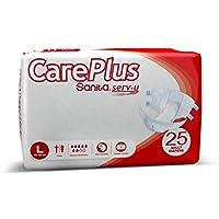 Sanita Adult Diaper Careplus Large, 25 Counts