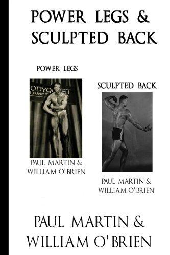 Power Legs & Sculpted Back: Fired Up Body Series - Vol 1 & 3: Fired Up Body por Paul Martin
