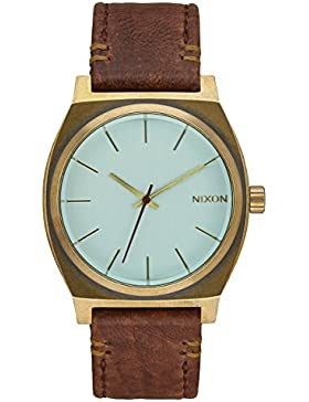 Nixon Unisex-Armbanduhr Time Teller Analog Quarz Leder A045 - 2223-00