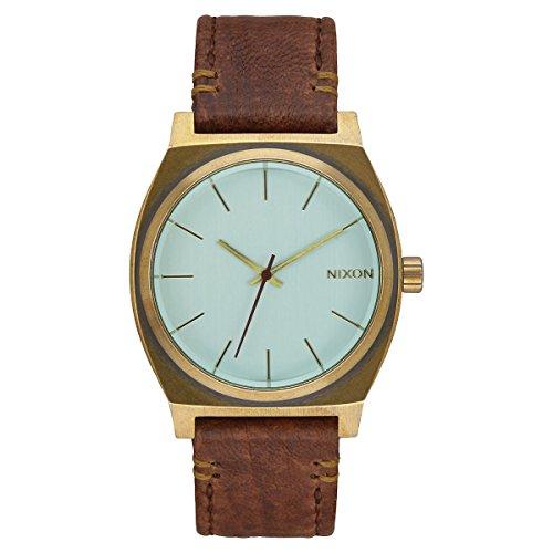 Nixon - A045-2223-00 - Montre Mixte - Quartz - Analogique - Bracelet Cuir Marron