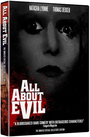 All About Evil DVD - Unrated Collector's Edition