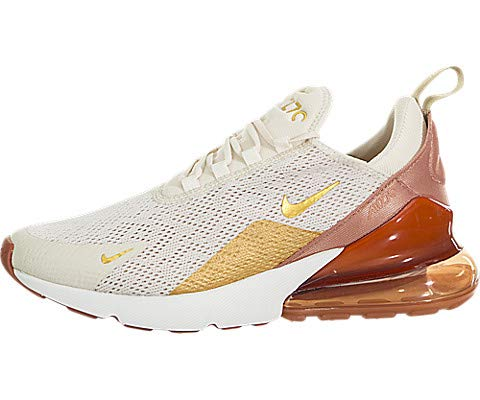 nike W AIR MAX 270 LIGHT CREAMMETALLIC GOLD TERRA BLUSH hos