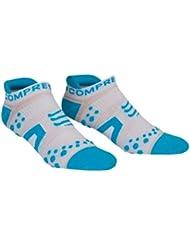 Compressport Kompressionssocken Proracing Run - Calcetines para hombre, color azul, talla M