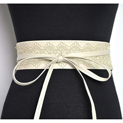 DYCHUN Damen Kleid Gürtel Elastische Spitze Schwarz Gürtel Für Frauen Luxusmarke Designer Gürtel Für Kostüme Jeans Gürtel Weibliche Hochzeitskleid Bund (Verschiedene Arten Von Kostüm Designer)