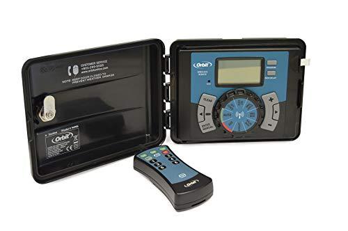 Orbit 94906 Easy Logic 6 Stazioni Programmatore Automatico Per Sistemi Di Irrigazione Esterno Con Telecomando