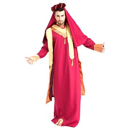 Halloween Spiel Uniform Arabische Jungen Und Mädchen Liebhaber Rollenspiele Exotische Kostüme,male (Männliche Arabische Kostüm)