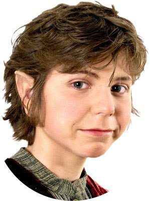 Hobbit Kostüm Ohren - Halbling Ohren Kostüm Zubehör hautfarben
