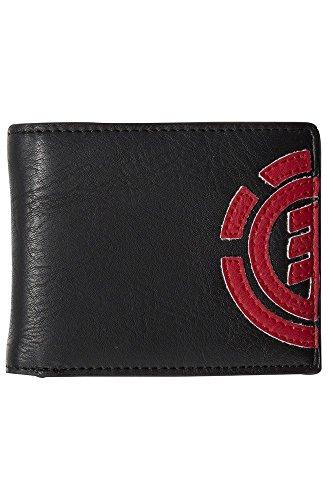Element Herren Daily Wallet Geldbörse, 1x7x9 cm BRONCO BROWN