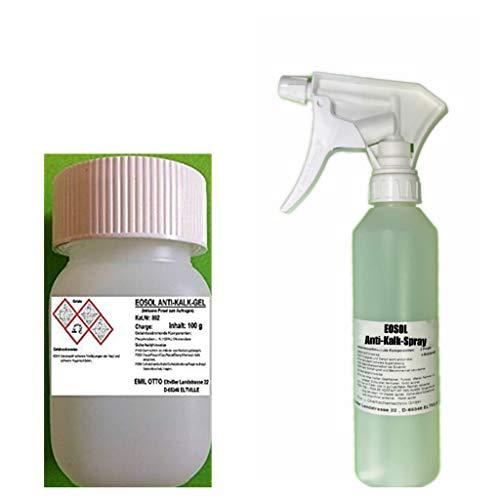EOSOL Anti-Kalk Power-Paket Nr. 1 (100 g EOSOL Anti-Kalk-Gel -extrem wirksam u. ergiebig und 500 g...
