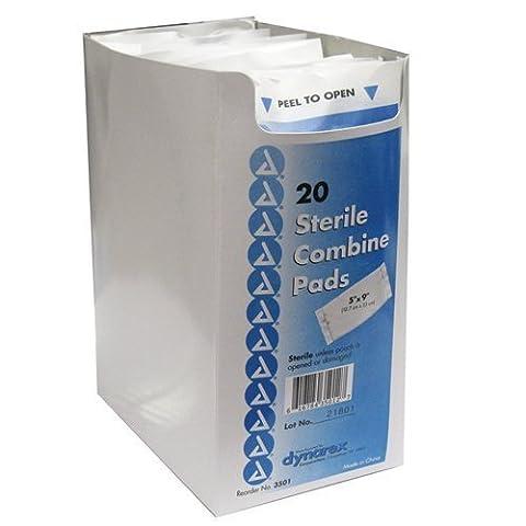 ABD Combine Pad Sterile 20 x 25 cm (Box of