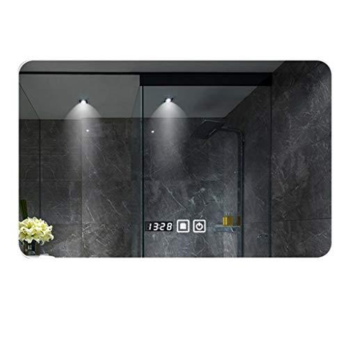 Espejo baño LED Rectángulo Montado En La Pared Espejo