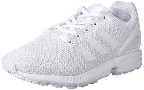 adidas Zx Flux J, Scarpe da Ginnastica Basse Unisex-Bambini, Bianco (Footwear White/Footwear White/Footwear White 0), 40 EU