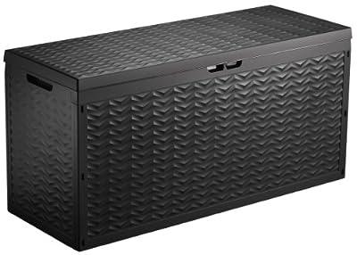 Oxid7 Kunststoff Auflagenbox 320L Gartenbox, Gartentruhe, Kissenbox, Garten Box von Oxid7 bei Du und dein Garten
