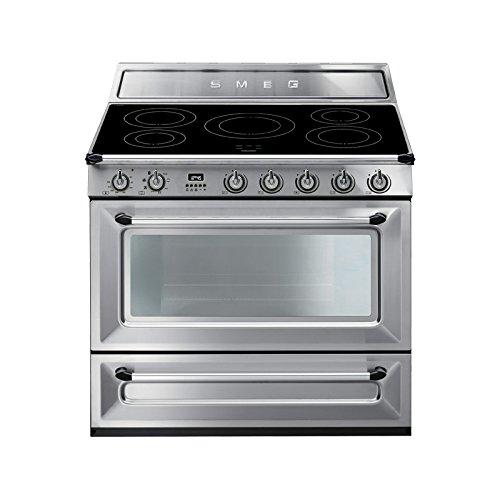Smeg TR90IX cuisinière - fours et cuisinières (Autonome, Grand, Electrique, Induction, 220 - 415 V, 50/60 Hz)