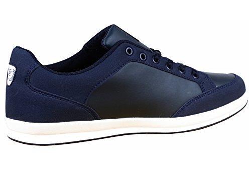 Toni Ellen® Panther Adulto Uomo Donna Sneaker Sneaker Sportivo Scarpe Sportive - Gr 40-44 Blu