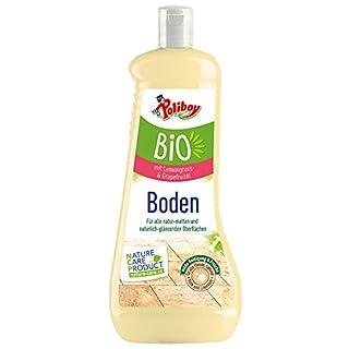 Poliboy Bio Boden Pflege - Sorgfältige Reinigung und Frische für alle Böden und Flächen - Vegan - 1 Liter - Made in Germany