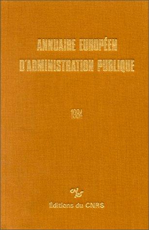 Annuaire européen d'administration ...