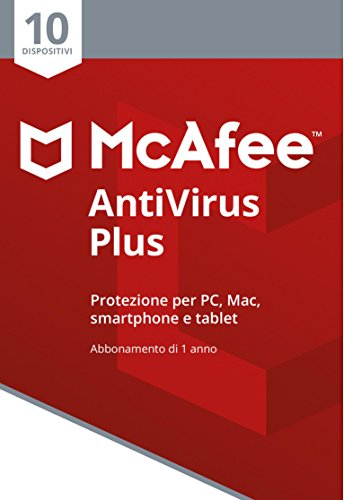 Foto McAfee MAV 10 Antivirus Plus 10 Dispositivi