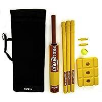 Pro impacto plástico playa–Set de críquet tamaño 5