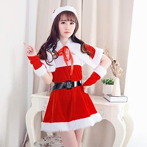 CVCCV Luxus-Weihnachtskostüme Weihnachtskugelkostüme Sexy niedliche Weihnachtskostüme Weihnachtskostüme