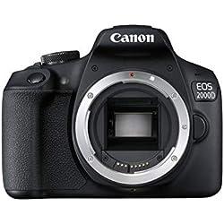Canon EOS 2000D Reflex Numérique + EF-S 18-135mm F/3.5-5.6 IS STM