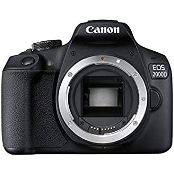 Canon EOS 1300D DSLR Camera - Black (Refurbished): Amazon.es ...