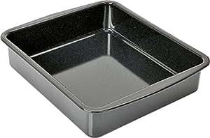 KAISER XL-Ofenform Auflaufform 36 x 30 x 8 cm Cuisine Line schnitt- und kratzfeste Emaille-Oberfläche spülmaschinengeeignet extra hoher Rand