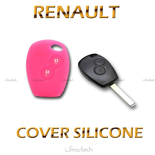 R Cover Key Remplacement 3 Bouton a distance de voiture Coque Keyless Key Card pour Renault Clio Megane Grand Scenic TOOGOO