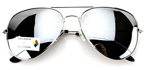 WearMe Pro - Classic Aviator Unisex Piloten Sonnenbrille