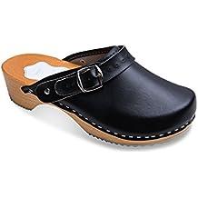 nuovo prodotto 8db5f 6ddfa Amazon.it: zoccoli legno donna