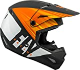 FLy Racing 2020 Kinetic K220 - Casco da motocross, 73-4943L, Matte Orange Black White, L