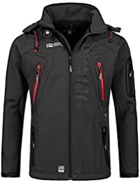 Geographical Norway Blouson à Capuche Techno Men 007 Softshell