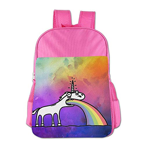Always Be A Unicorn Children Schoolbag School Bag School Bagpack Bag For 4-15 Years Old Pink S4