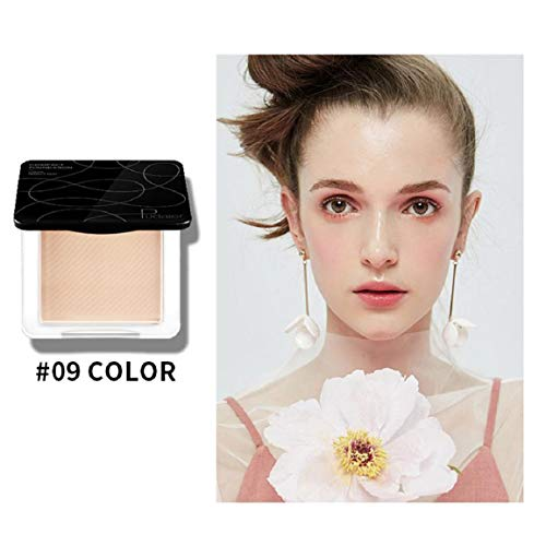 Cover Girl Mineral Foundation (Vaycally Gesichtspuder, Concealer, Compact Powder Foundation, Mineral gepresster Tarnpuder Tricolor Makeup Puder Gesichtspuder Panel Contour Color Cosmetics 50g)